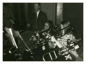 Jarenlang trombone spelen in het korps