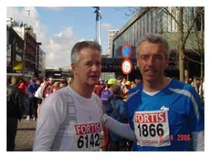 Marathons lopen