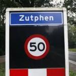 Naambord Zutphen