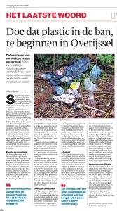 artikel Tubantia 13-12-2017 plastic